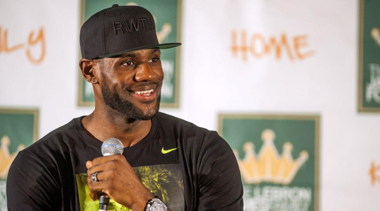Cavaliers' LeBron James: Weight loss 'had nothing to do ...