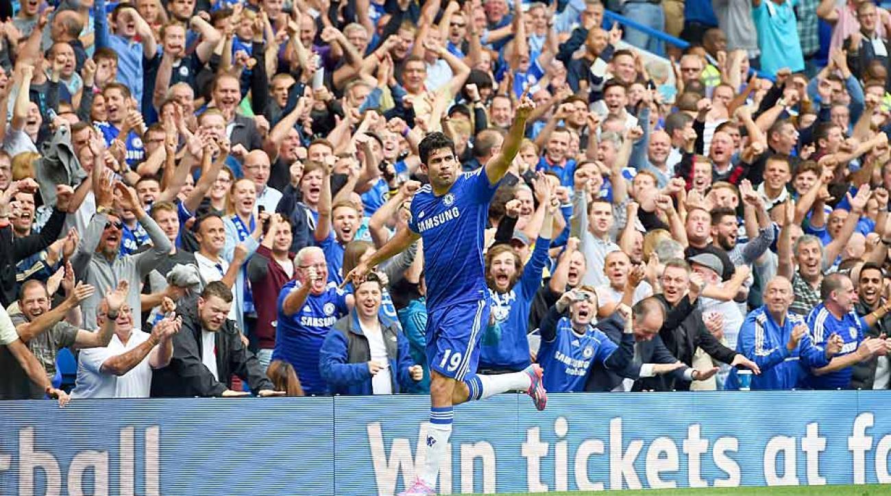 Chelsea Aston Villa Diego Costa