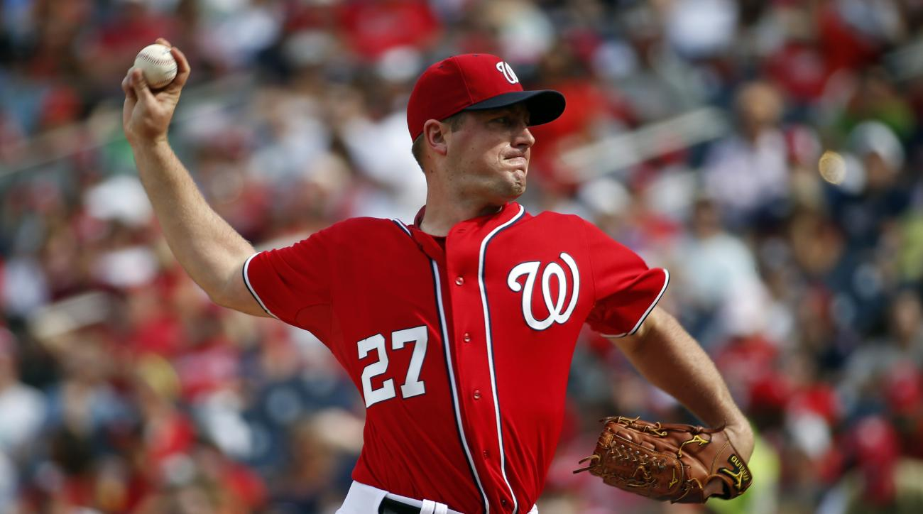 Jordan Zimmermann no-hitter Washington nationals