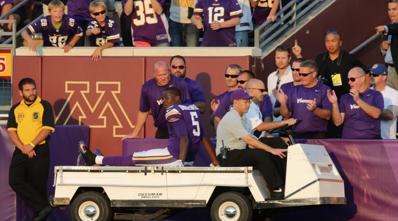 Teddy Bridgewater ankle injury Minnesota Vikings