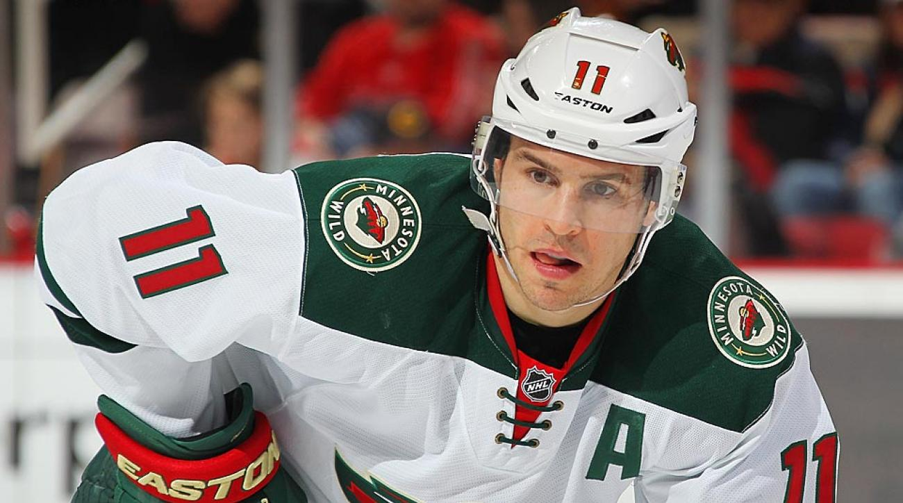 Zach Parise of the Minnesota Wild is trying to cope while his father battles cancer.