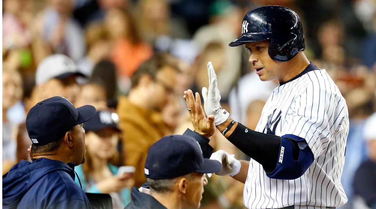 Yankees Alex Rodriguez return