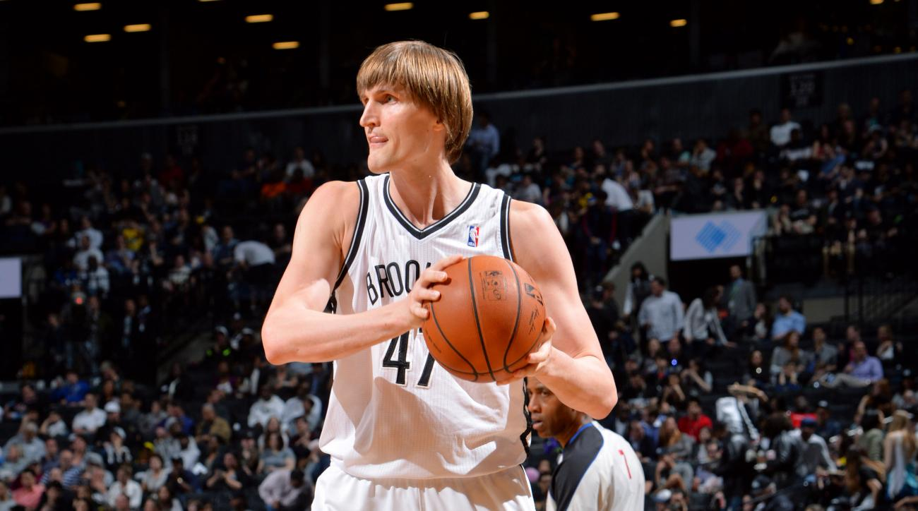 Nets Andrei Kirilenko back injury