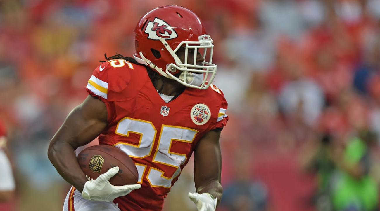Kansas City Chiefs Jamaal Charles