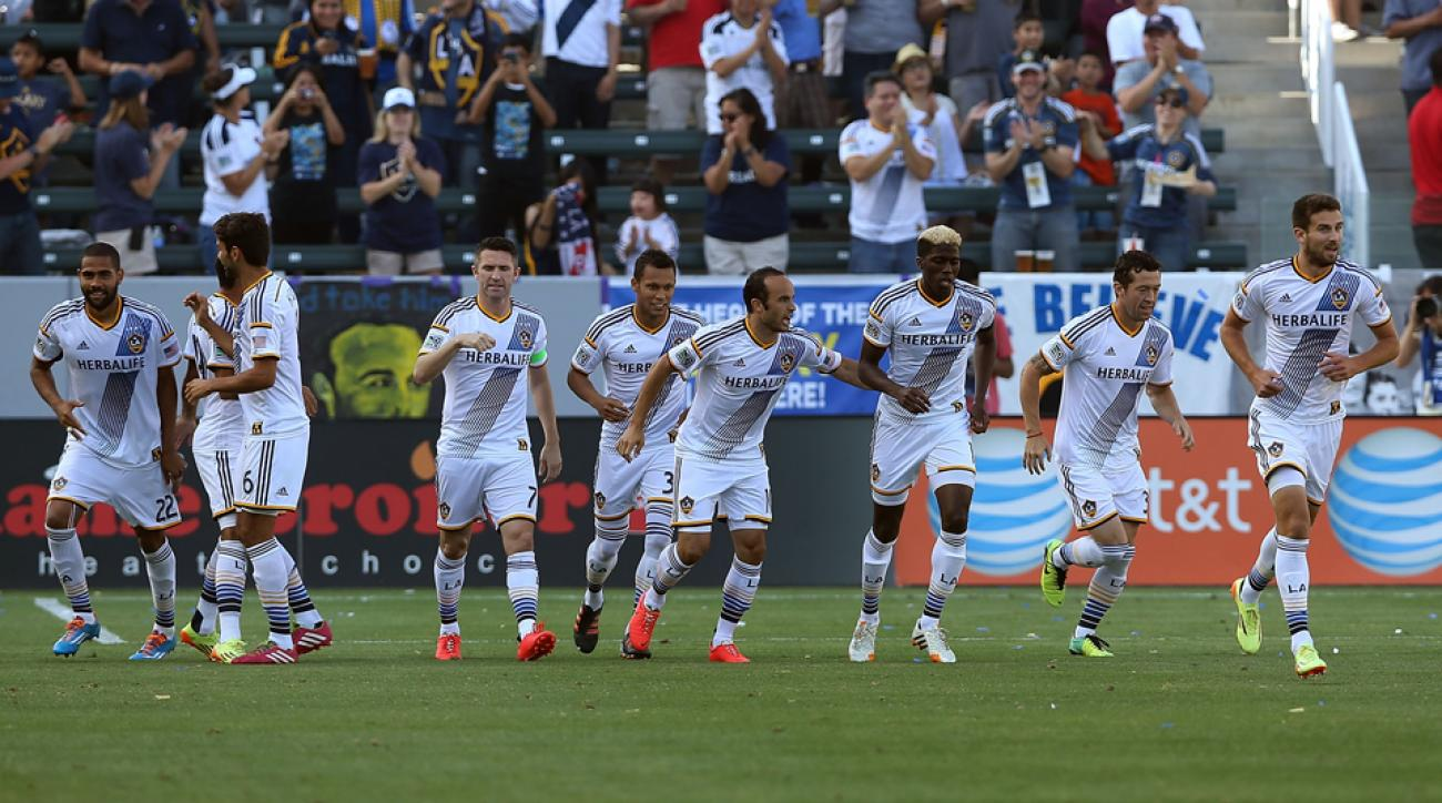 The LA Galaxy are making a march toward the MLS record books, with their goal differential currently the second greatest in league history.