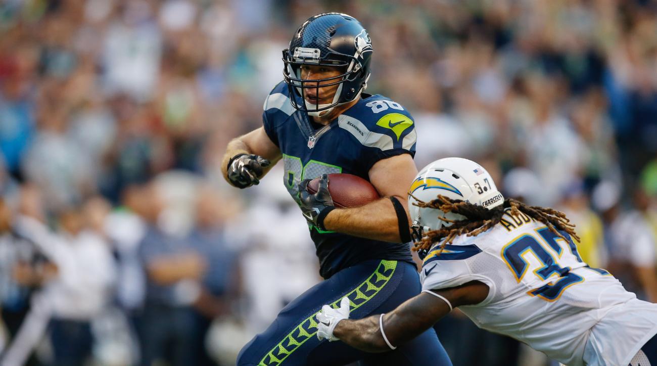 Seattle Seahawks Zach Miller ankle surgery bye week