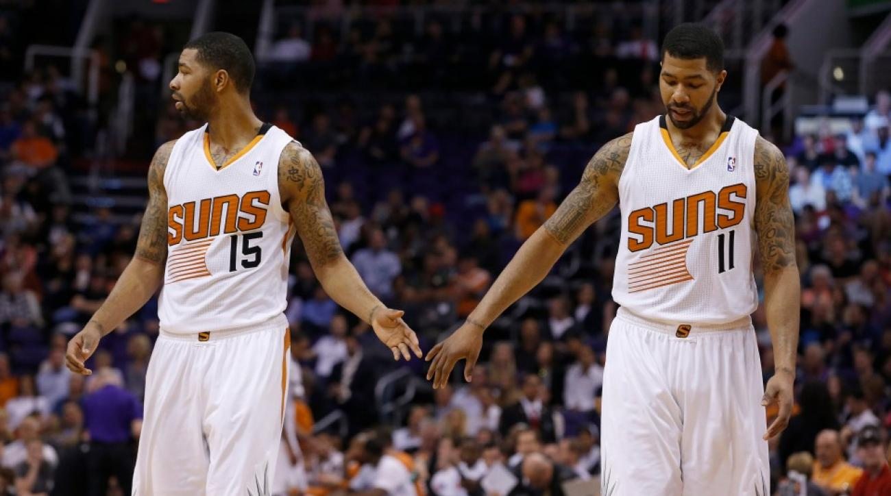 Marcus Markieff Morris twins Suns contract