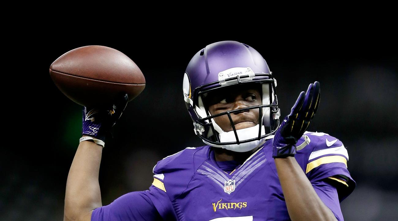 Teddy Bridgewater Minnesota Vikings start Thurssday against Packers