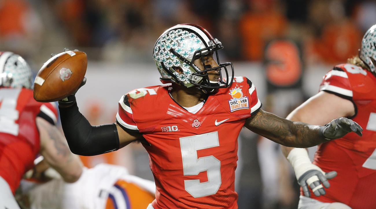 Braxton Miller ohio state quarterback injured starter