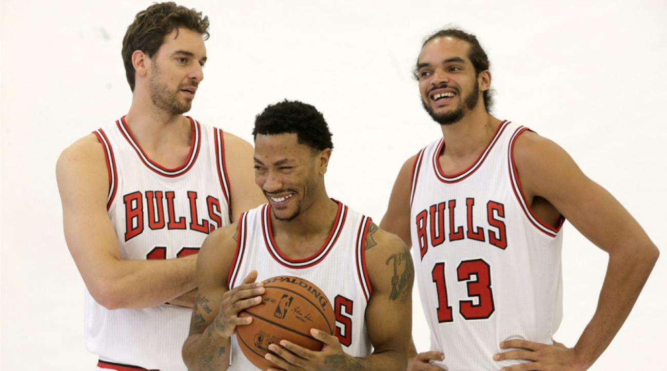 Chicago Bulls media day