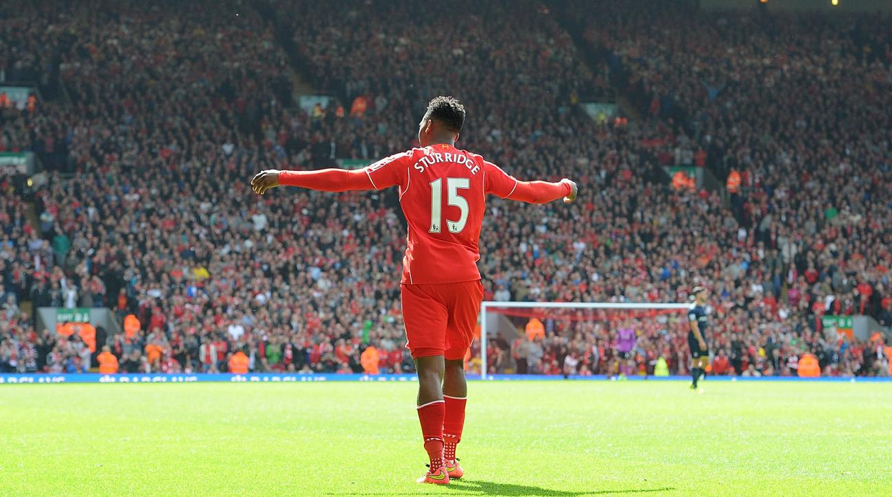 Liverpool's Daniel Sturridge out