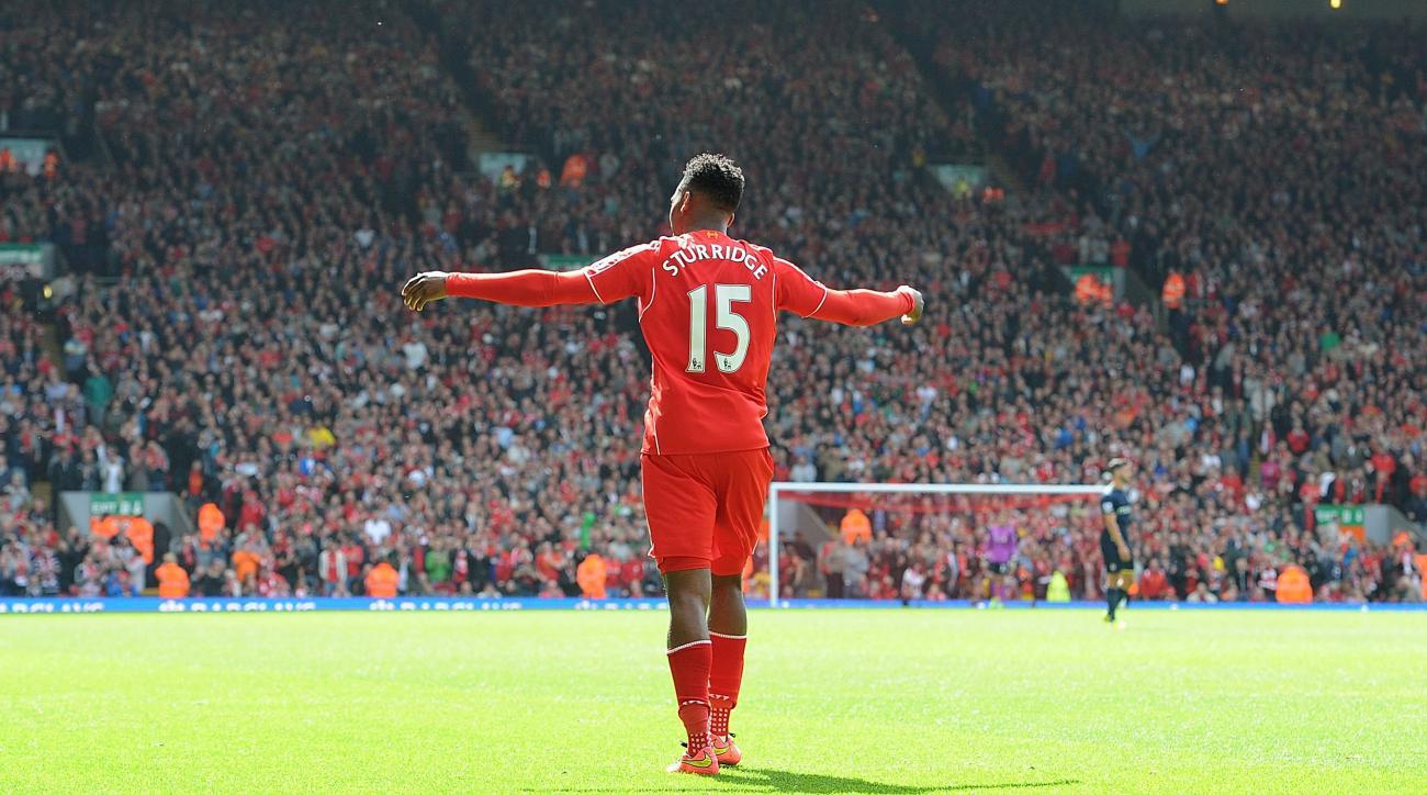 Liverpool's Daniel Sturridge out