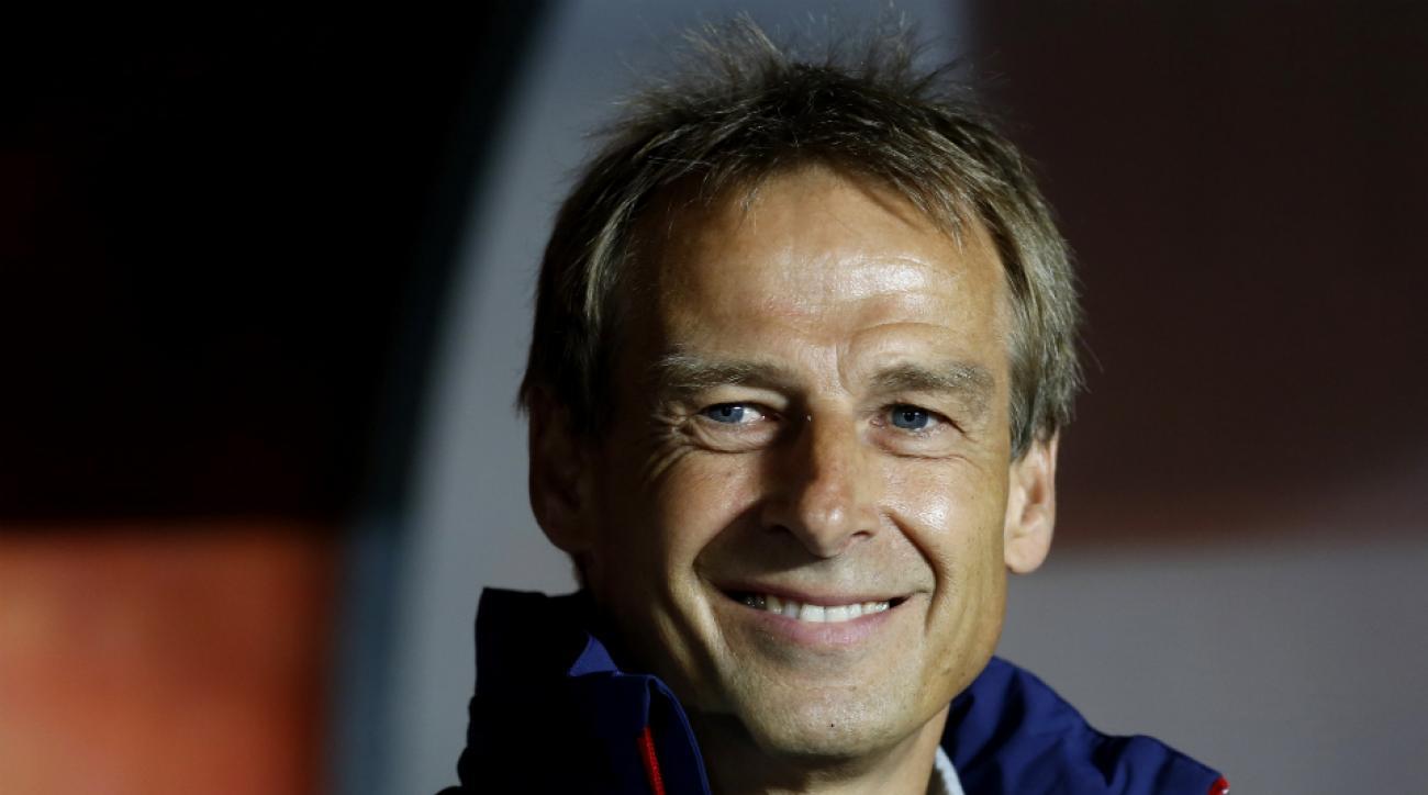 Jurgen Klinsmann U.S. U-23 men's national team play brazil