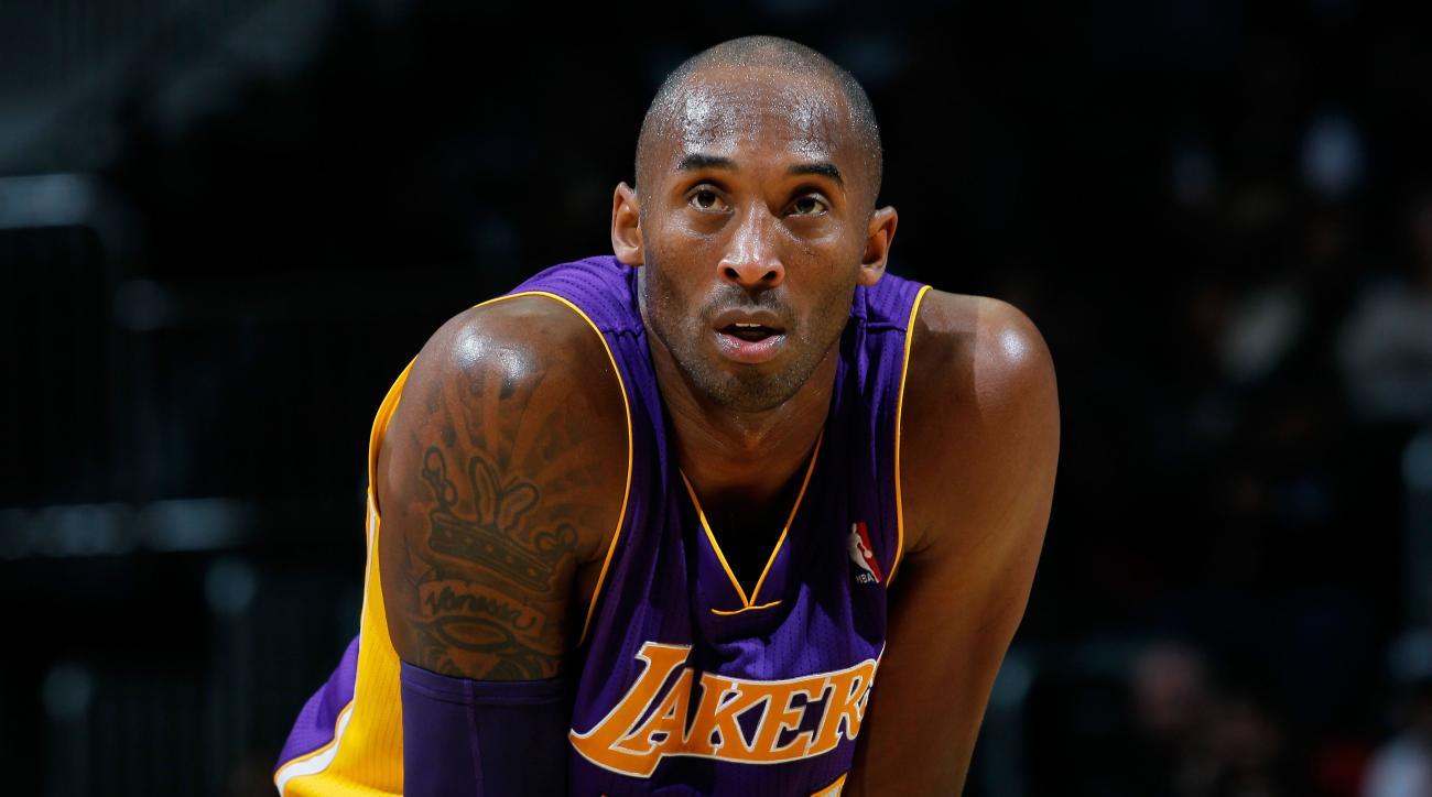 Lakers Kobe Bryant injury preseason