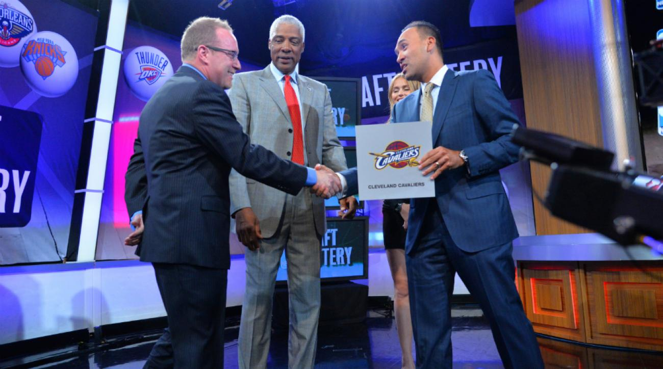 NBA draft lottery reform