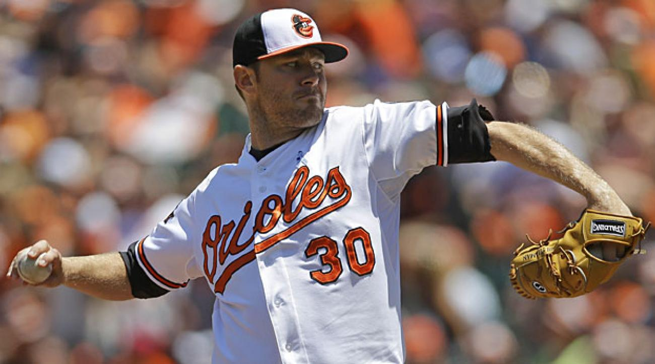 Chris Tillman ranks third in the AL in starts and tied for fourth in wins over the past two seasons.