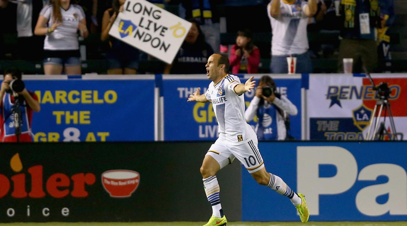 U.S. men's national team great Landon Donovan is compiling one of the best statistical seasons of his career but is still retiring at the end of the MLS season.