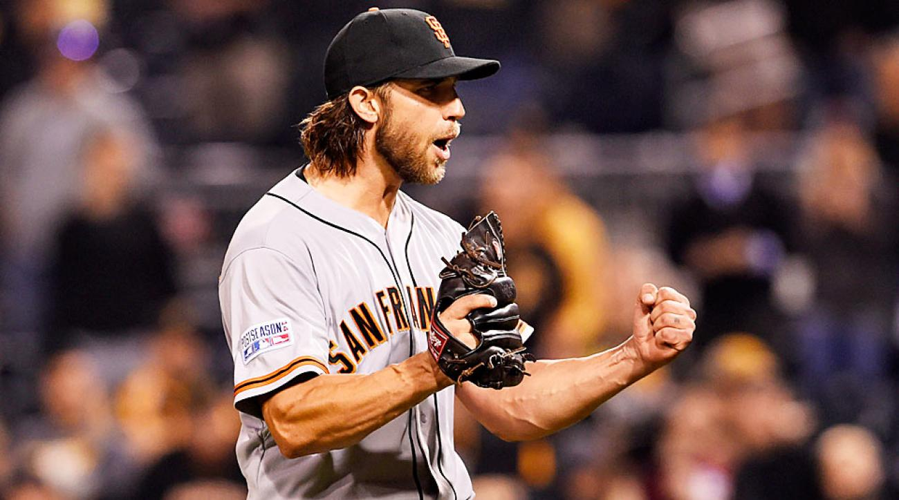 Madison Bumgarner San Francisco Giants NL Wild-Card winner