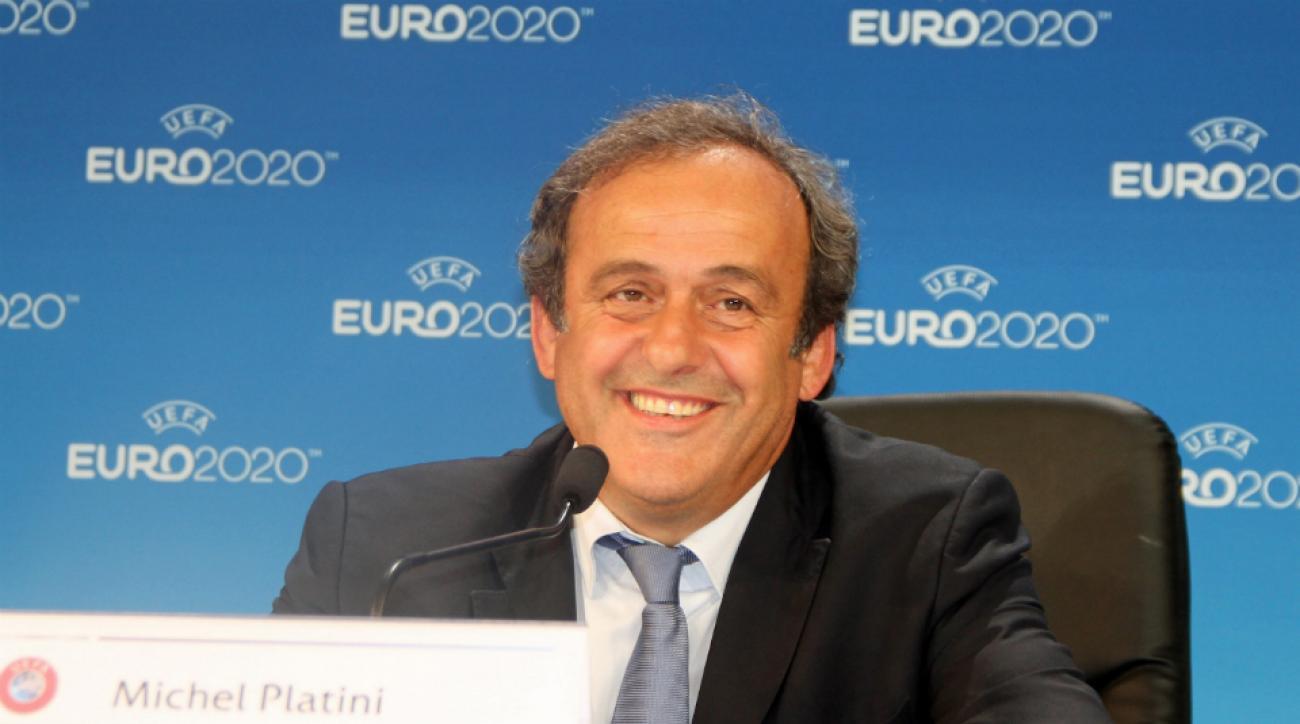 Michael Platini world cup watch