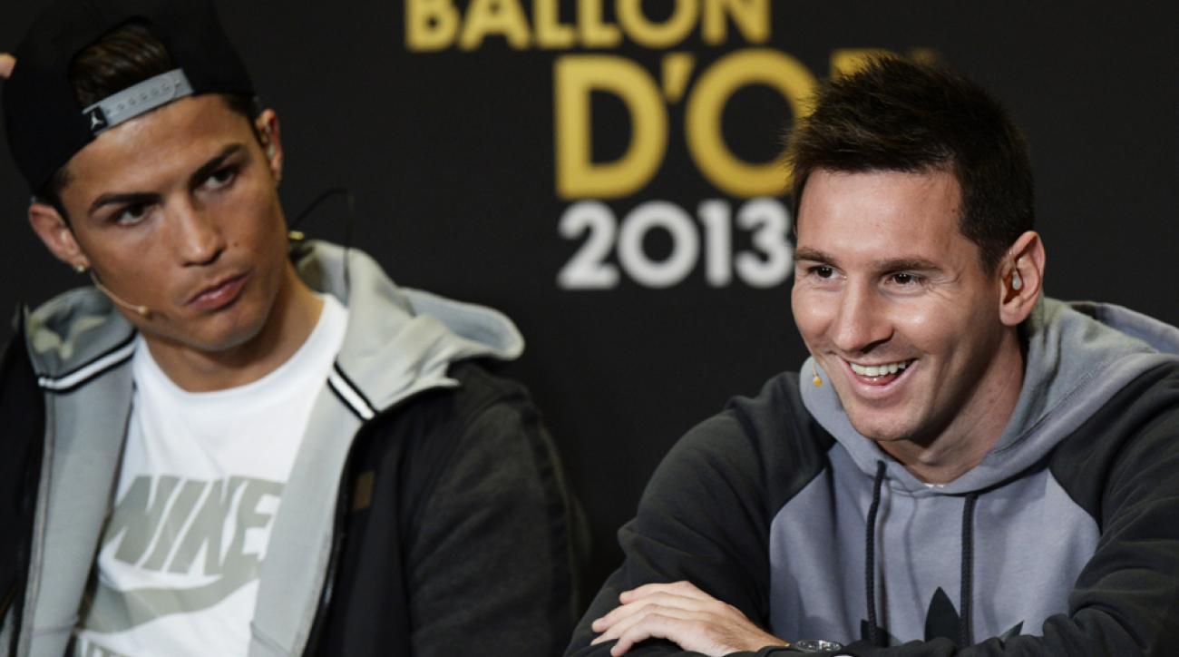 Lionel Messi, Cristiano Ronaldo competing rivalry