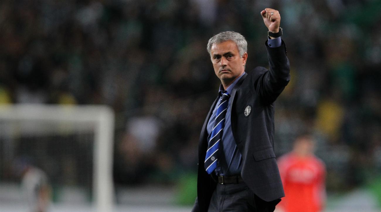 Chelsea coach Jose Mourinho no racism soccer