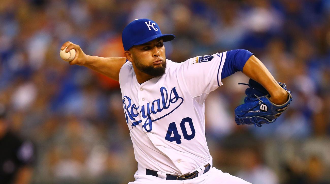 Royals Kelvin Herrera injury