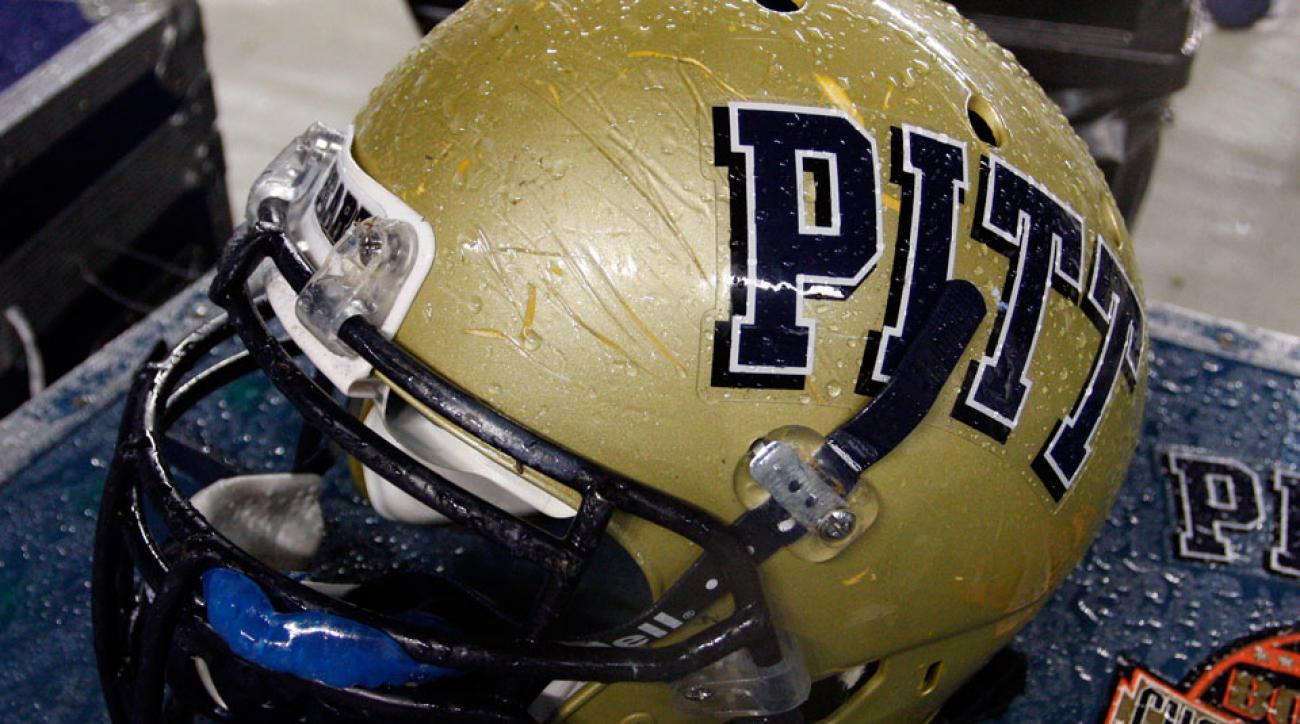 Pittsburgh Panthers helmet