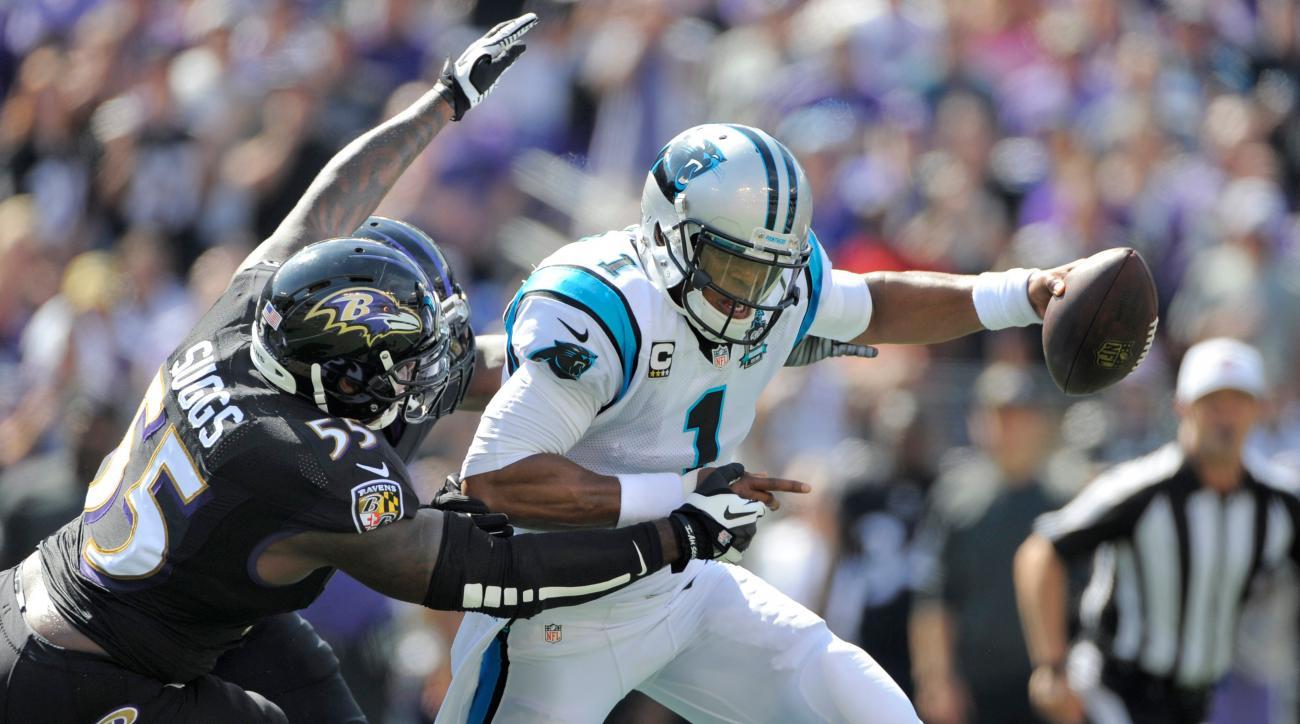 Terrell Suggs Baltimore Ravens