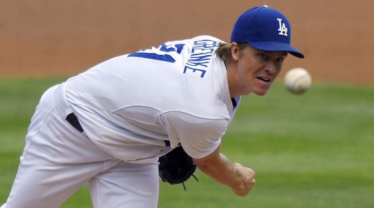 Zack Greinke has enjoyed a solid season with the Dodgers in the shadow of Clayton Kershaw.