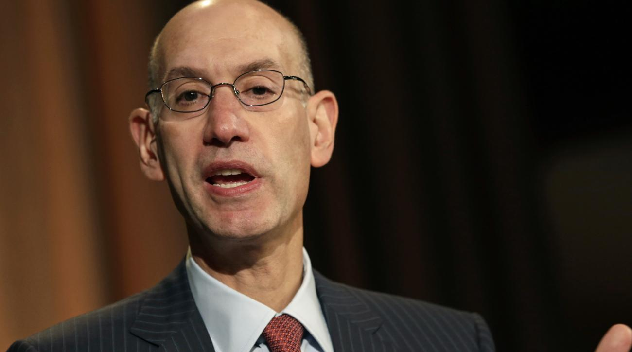 Adam Silver, NBA, announce new television broadcast deals, ESPN, Turner