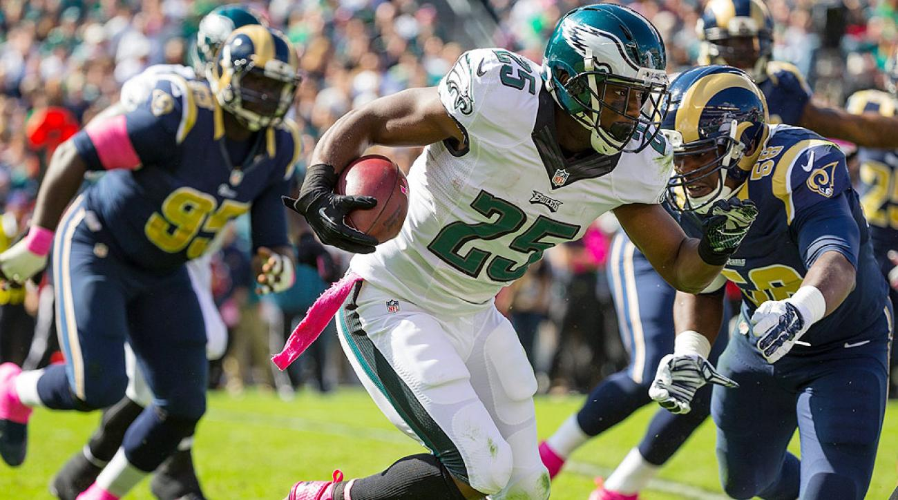 Fantasy Football Week 5: LeSean McCoy struggles again for Philadelphia Eagles