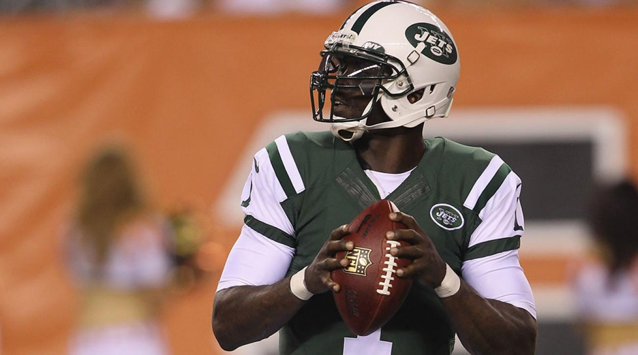 Michael Vick took over at QB for the Jets in the second half