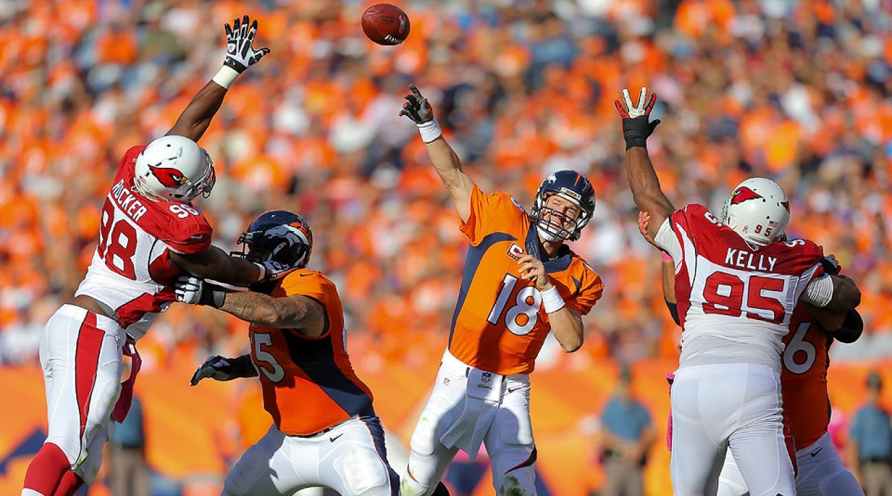 NFL Week 5 superlatives: Peyton Manning, Brian Hoyer shine;  Jets' QBs remain hapless