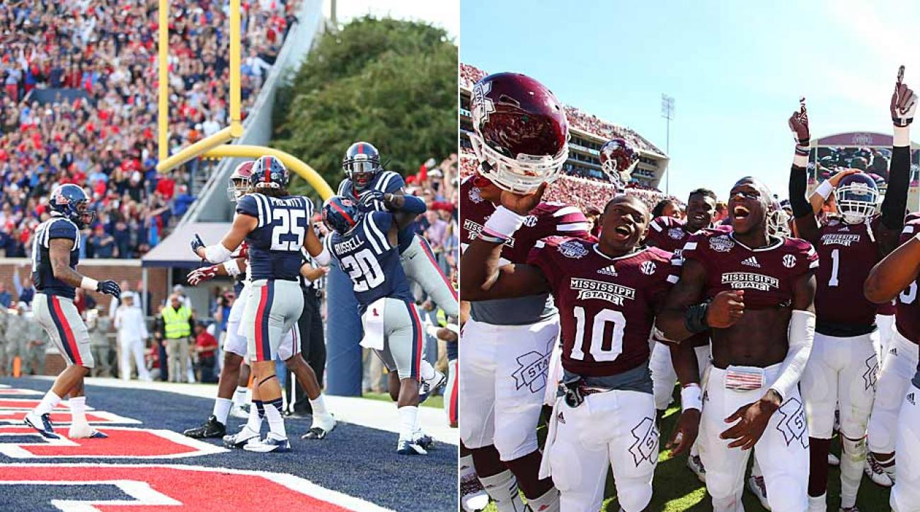 After two signature wins, Ole Miss and Mississippi State each cracked the top 5 in the Week 7 AP poll.