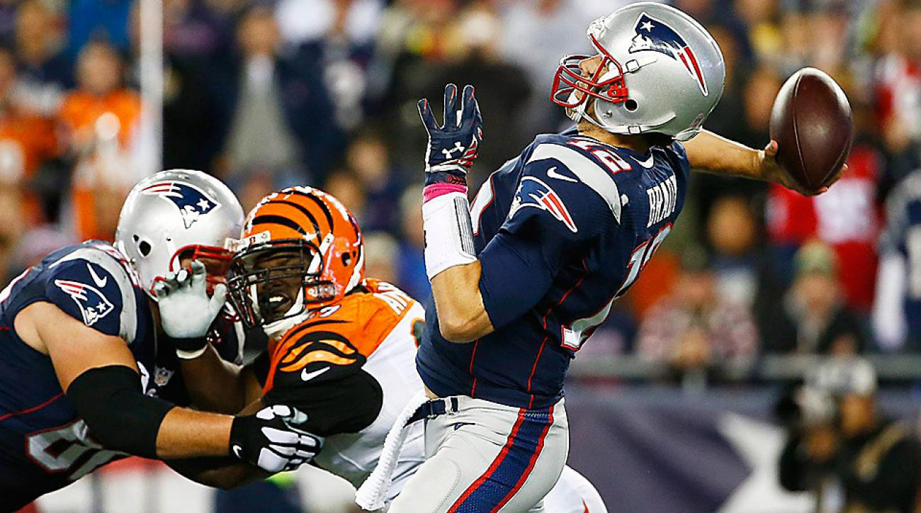 New England Patriots return to form in rout of Bengals