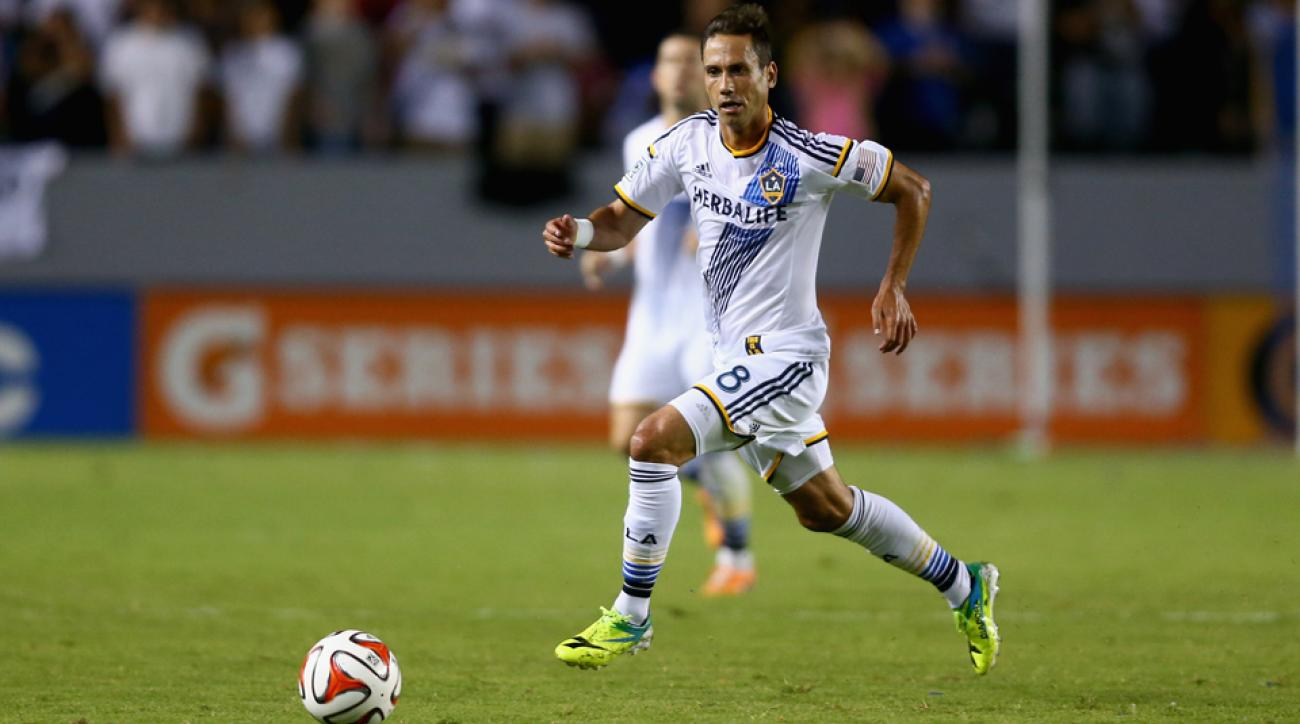 LA Galaxy midfielder Marcelo Sarvas played a vital role in the club's dominance of Toronto FC Saturday night.