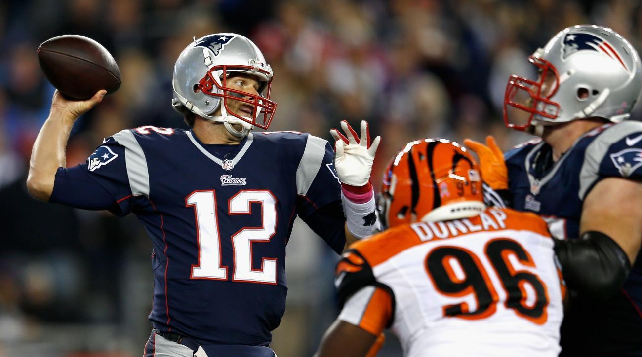 Patriots Tom Brady Rob Gronkowski