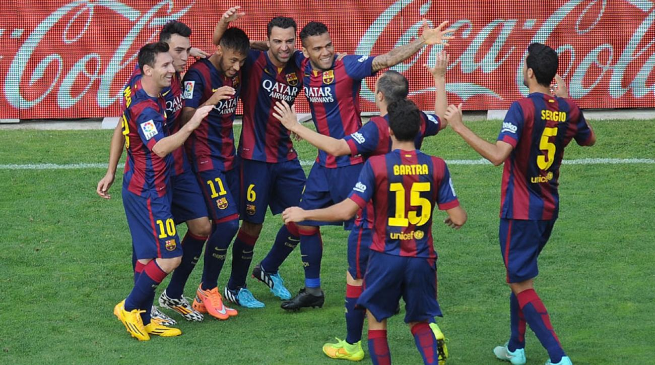 Barcelona would be kicked out of La Liga if Catalonia secedes from Spain