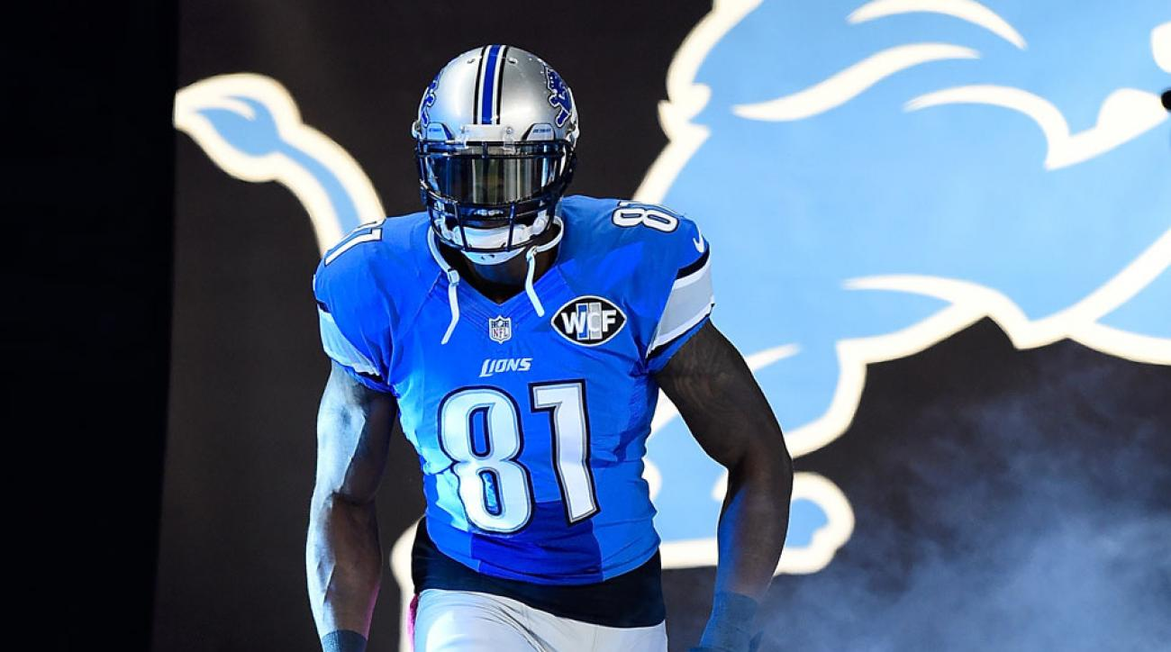 official photos 6e359 2a2da Barry Sanders: Detroit Lions WR Calvin Johnson a lock for ...