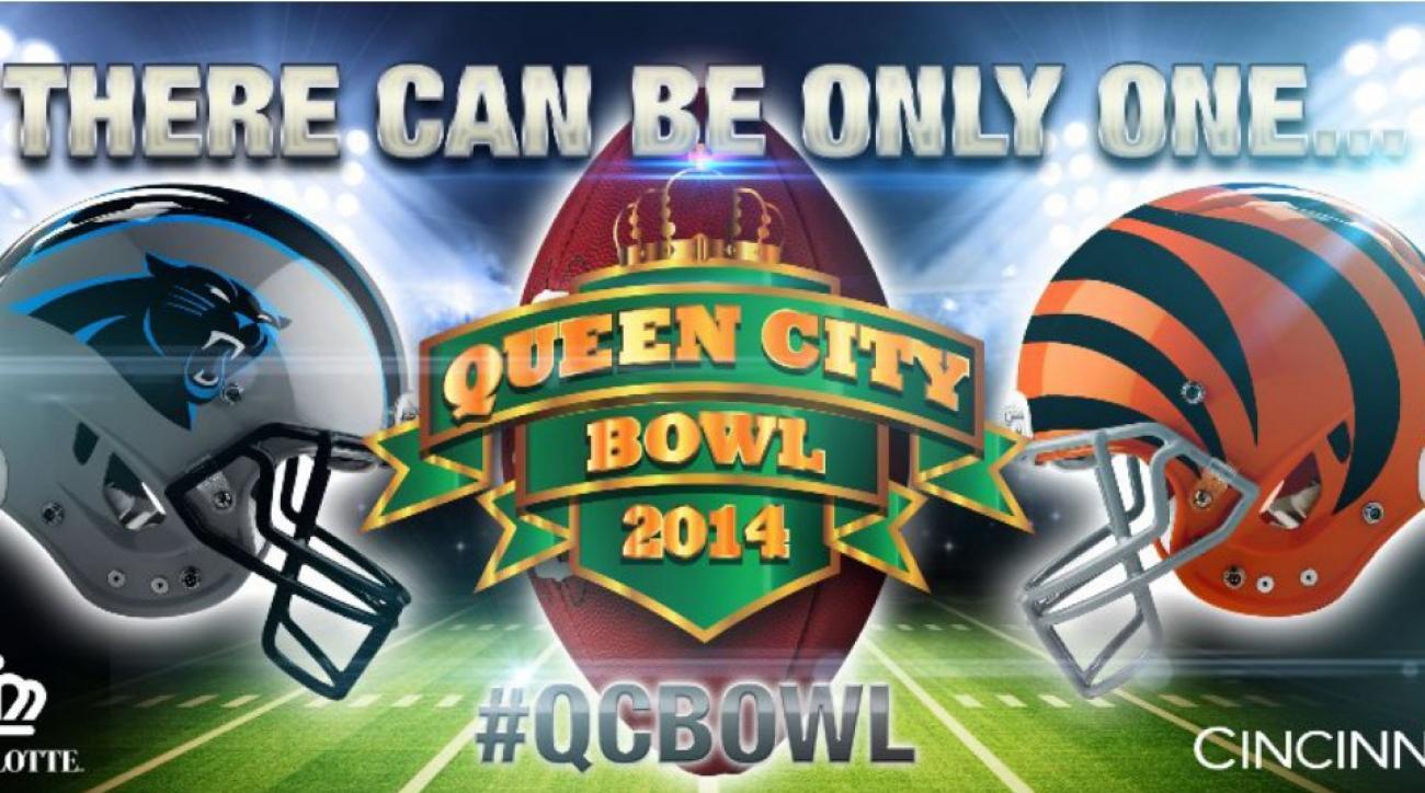 Carolina Panthers, Cincinnati Bengals in Queen City Bowl