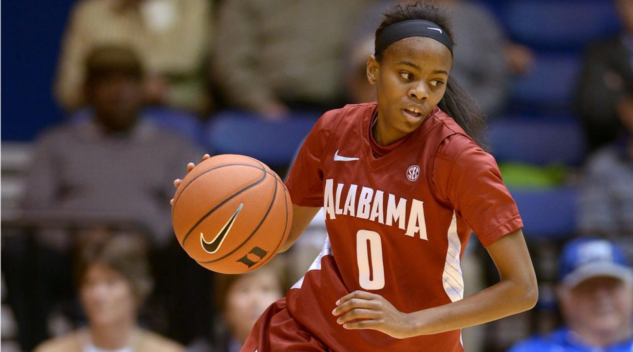 Alabama transfer Daisha Simmons