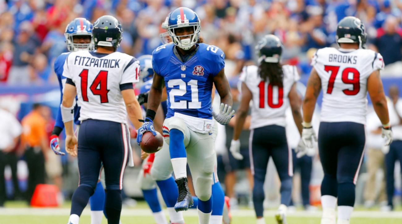 Giants CB Dominique Rodgers-Cromartie play through injury