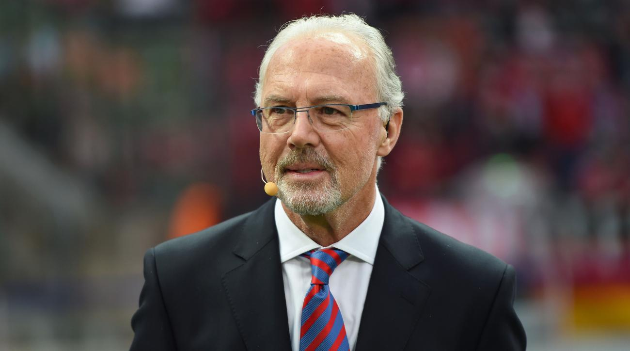 Franz Beckenbauer German great has open heart surgery
