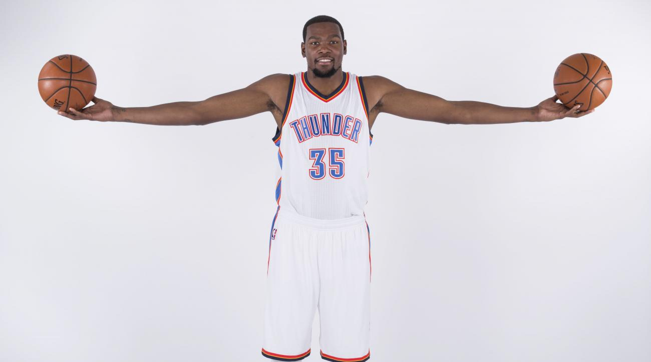Kevin Durant max contracts