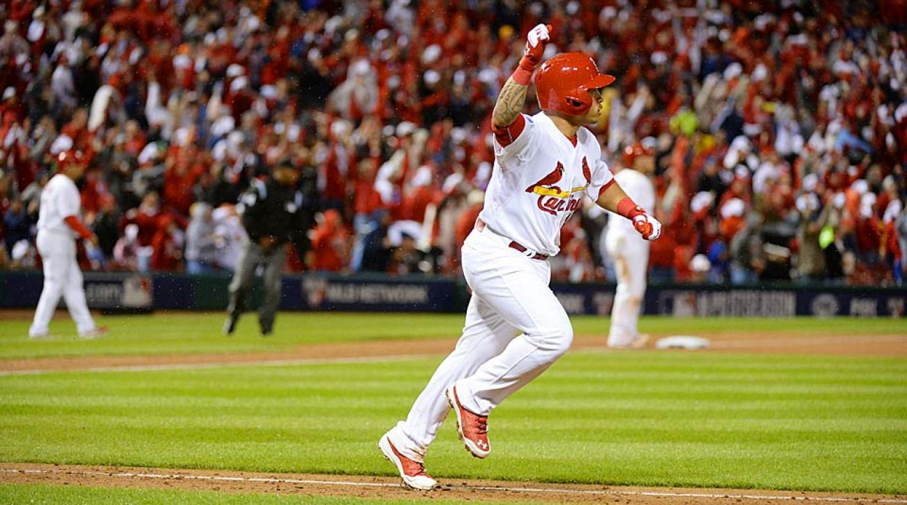 Kolten Wong Cardinals home run NLDS Game 3