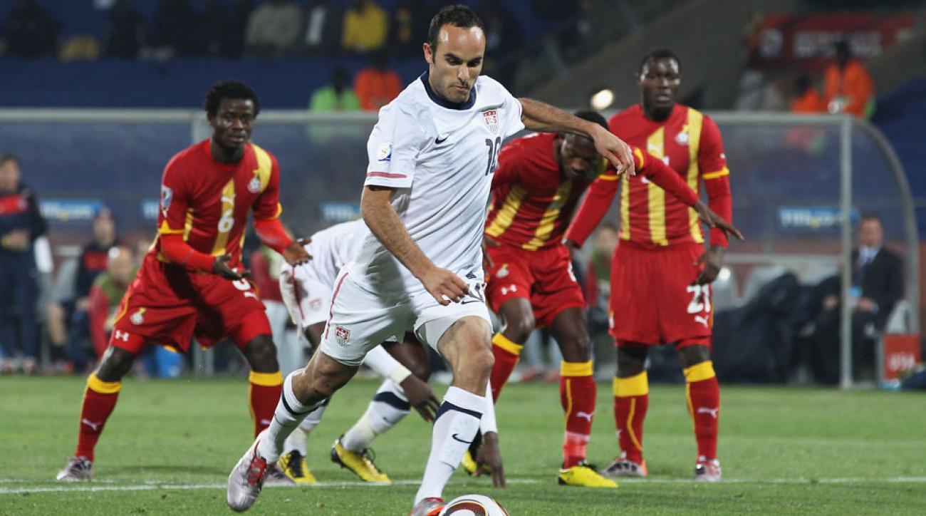 Landon Donovan will captain the USMNT in his final game vs Ecuador.