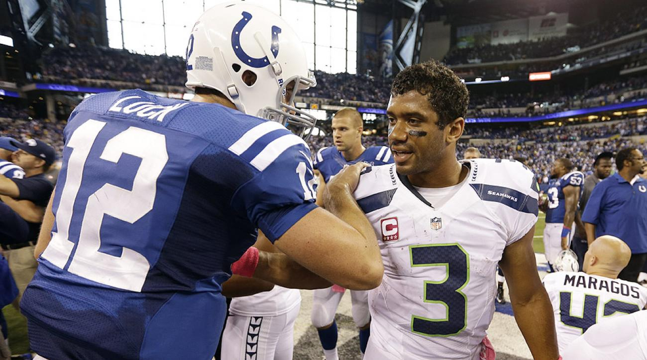 NFL Week 6: Andrew Luck, Russell Wilson among top young quarterbacks
