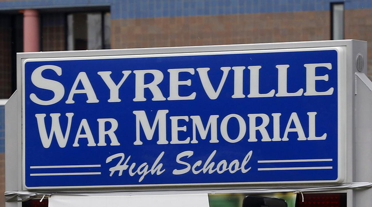 Football-centric town of Sayreville divided by lewd hazing allegations
