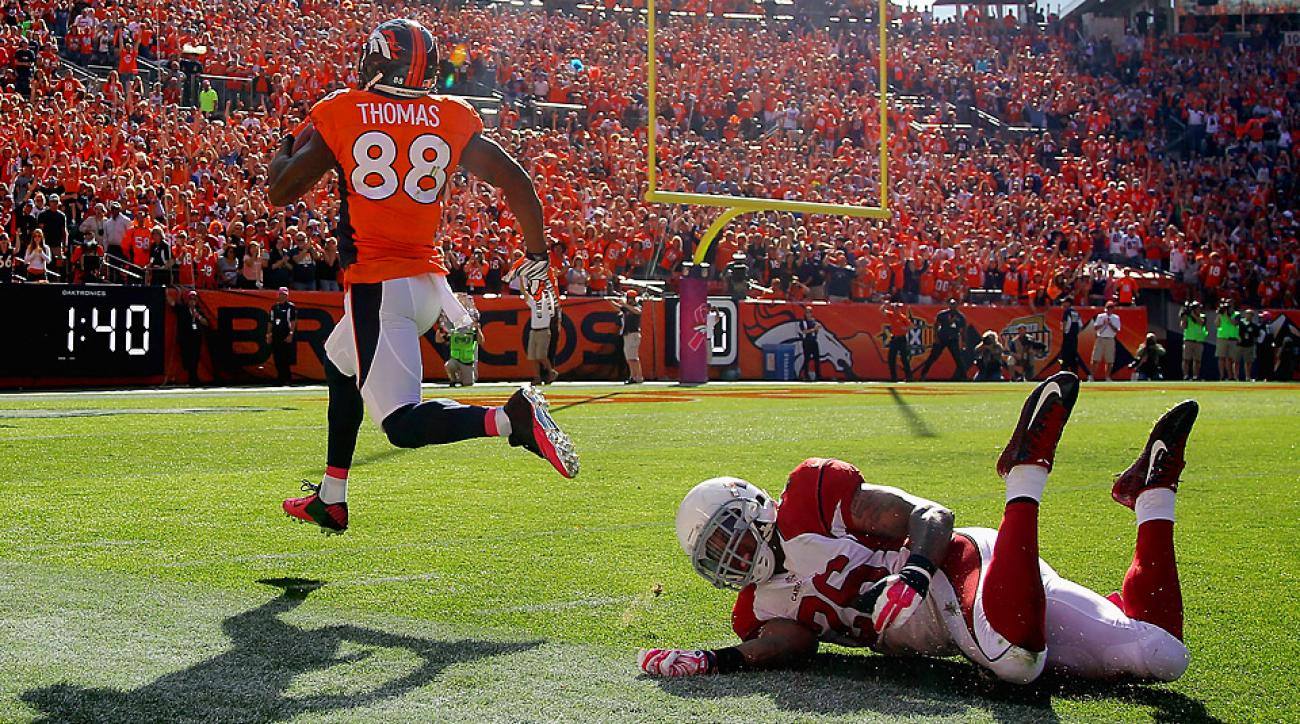 Week 5 Target Report: Broncos' Thomas proves he's fantasy's top WR