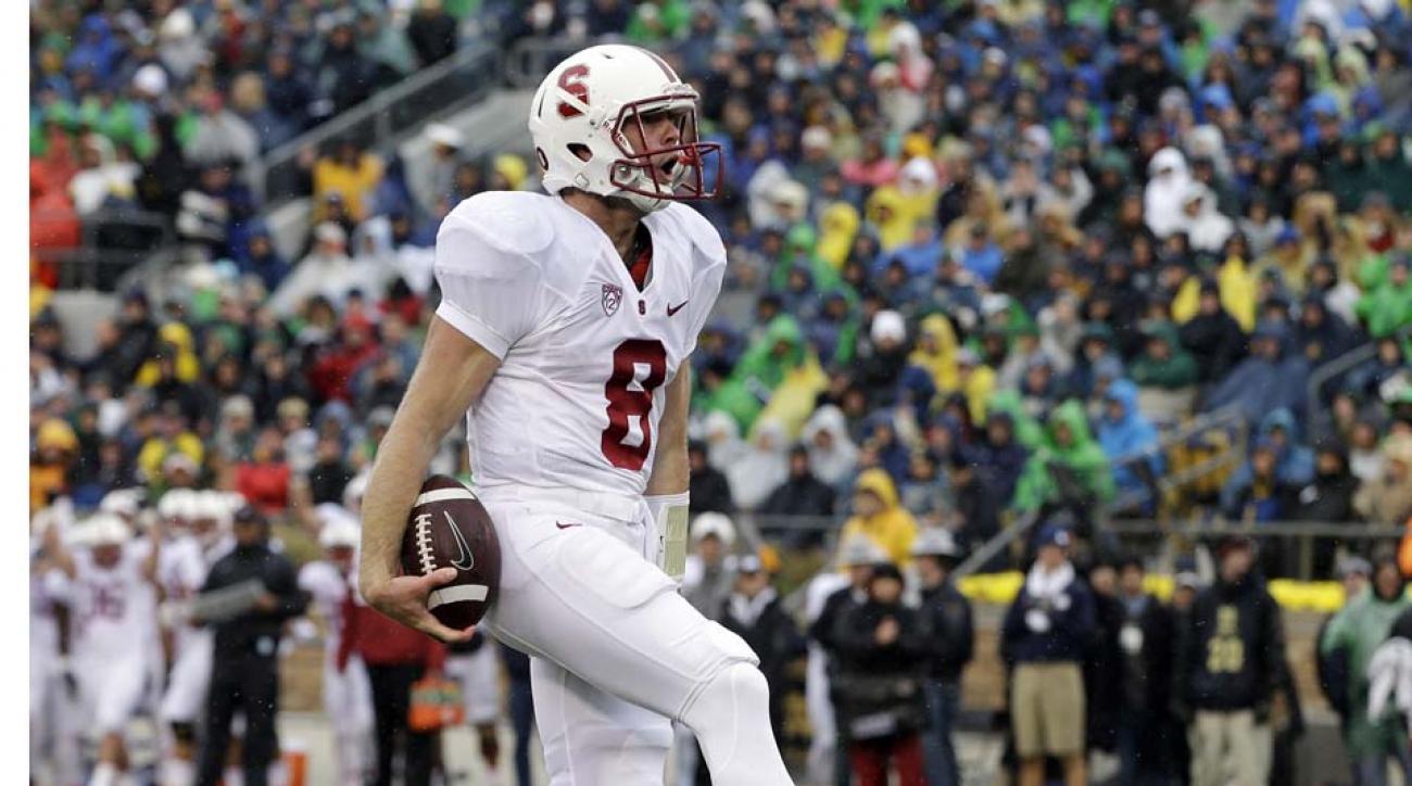 Kevin Hogan Stanford leg injury